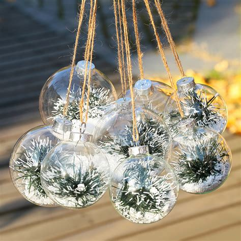 high quality clear glass christmas ornament buy cheap