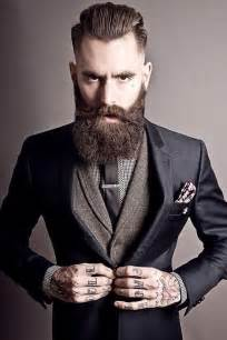 40 beard and hairstyle looks for