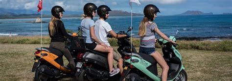 motor scooter rental hawaii moped rental