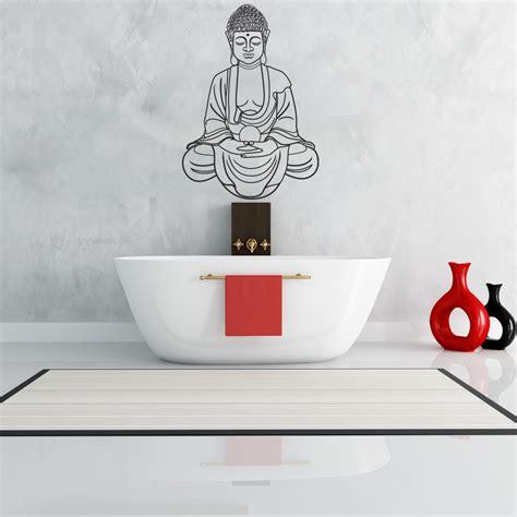 buddha wall sticker wallstickers folies buddha wall stickers