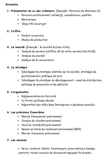Modèle Plan D Mod 232 Le Type De Business Plan Plan D Affaire Modele