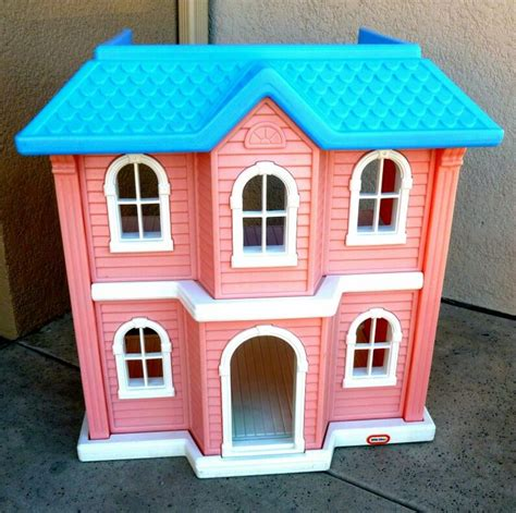 little tikes dolls house little tikes doll house barbie size vintage old toys
