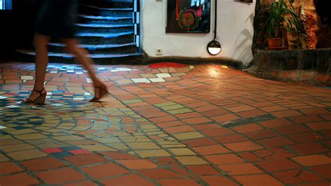 best flooring for uneven floors experimental the uneven floor by hundertwasser