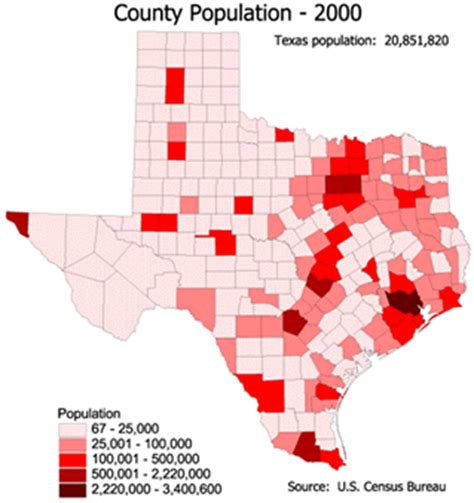 population map of texas maps of texas texan flags maps economy geography climate resources current