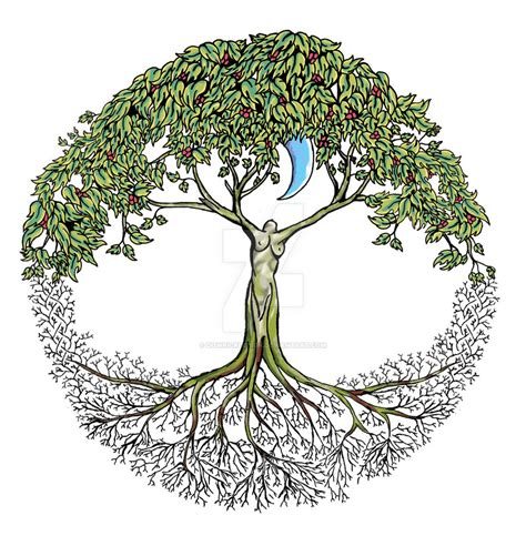 tree of life tattoo design tree of design version 1 by dowrickdesign on