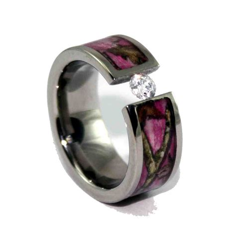 Wedding Rings Camo by Matching Camo Wedding Bands Wedding And Bridal Inspiration