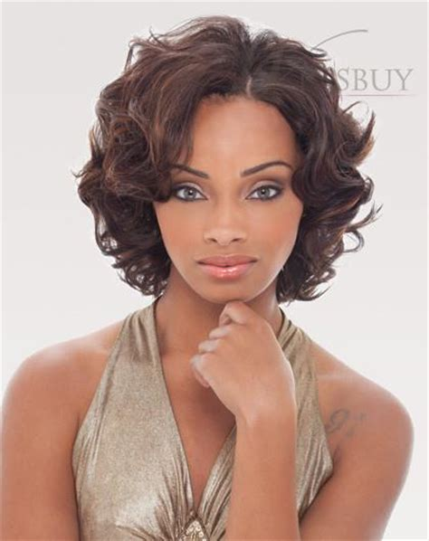 lace wig shorter hairstyles beautiful fluffy short curly lace front wig 100 image