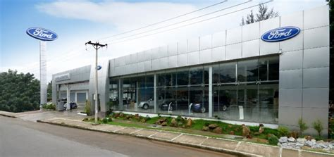 ford celebrates grand opening  myanmar dealership