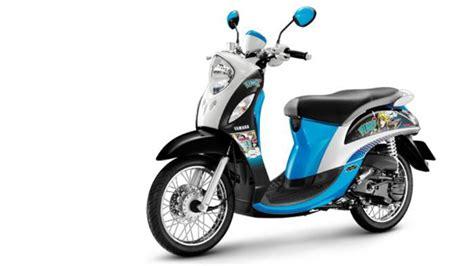 Yamaha Fino Fashion Durable Motor Cover Blue yamaha fino