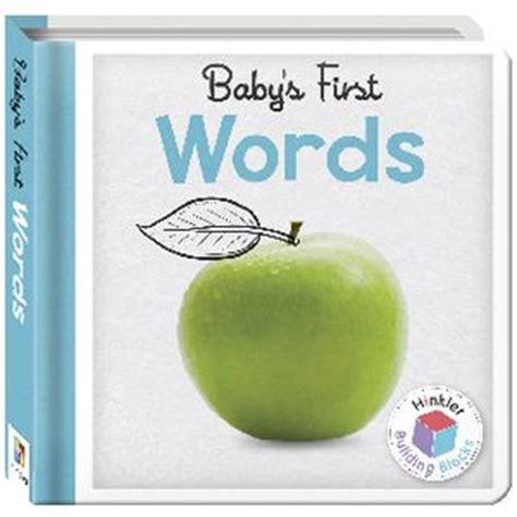 Hinkler Baby S Colours hinkler building blocks baby s words board book officeworks