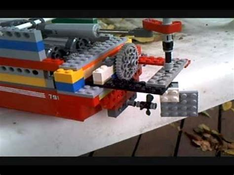 lego little boat lego boats that really work 3 youtube