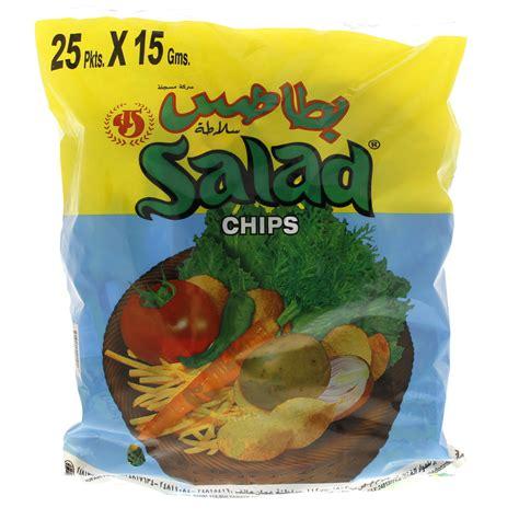 chip qatar buy oman salad chips 25 pkts x 15 gm online in uae abu