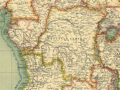 africa map 1900 maps of africa