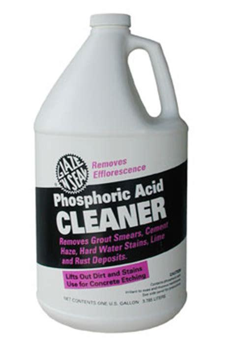 Marble Bathroom Cleaner Glaze N Seal Phosphoric Acid Cleaner Quart By Glaze N Seal