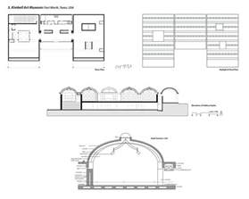 Museum Floor Plan Dwg by Floor Plan Roof Plan Elevation And Constructional