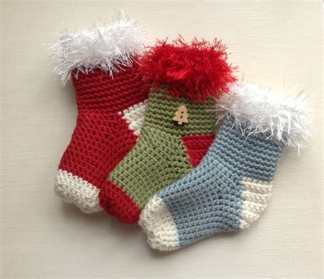 Good Easy Knitting Patterns For Christmas Stockings #4: Mini-Christmas-Stocking-Crochet-Pattern.jpg