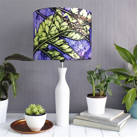 plum fern green purple l shade for the home