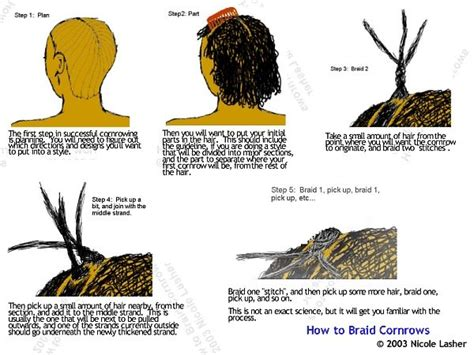 how to cornrow hair for beginners how to braid cornrows basic instructions click to go to