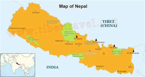 on the map where is nepal located on map nepal map in asia and world
