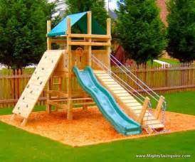 backyard playground ideas on sandbox swing