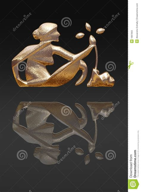 horoscope zodiac gold metal stock photos image 1897663