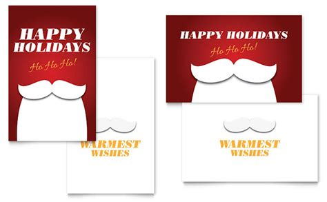 publisher card template ho ho ho greeting card template word publisher
