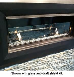 linear vent free gas fireplace vantage hearth luminary linear vent free gas fireplace with remote