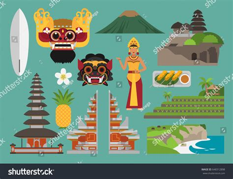 tutorial vector illustrator indonesia indonesia illustration bali island vector landmark stock