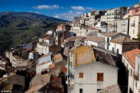buy house sicily the italian houses available for one euro historic sicilian hilltop town sells off 20