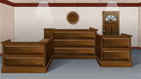 Interior Home Design Software Free by Inside An Empty Courtroom Cartoon Clipart