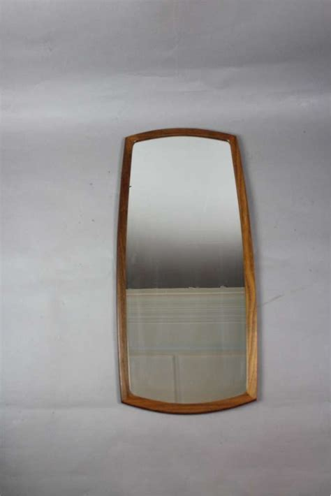 mid century modern mirror mid century modern teak framed wall mirror sold items furniture