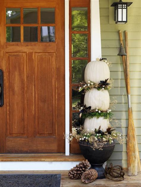 porch topiary 4 ways to make a pumpkin topiary diy home decor and
