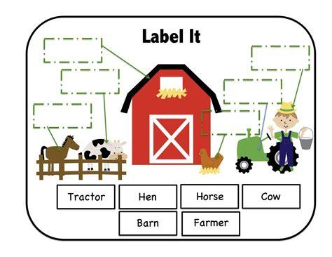 Farm Worksheets Preschool by On The Farm Printable Preschool Printables