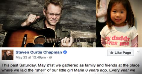 Steven Curtis Chapman Posts On Anniversary Of Daughter's Death