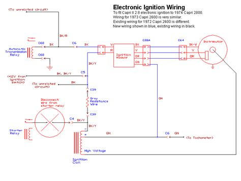 1976 ford ignition wiring diagram 1976 free engine image