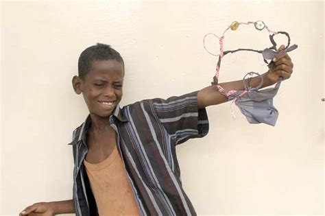 Cbell Doesnt Want To Clean Streets Like Boy George by A Childhood On The Streets In Djibouti Caritas