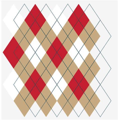argyle pattern svg quick tip make a seamless argyle pattern