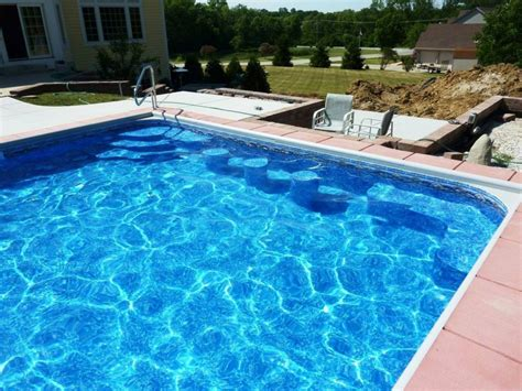 pool cost inground pool liner cost inground pool liners types
