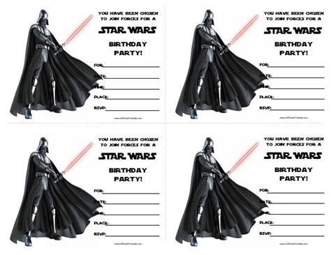 25 best ideas about star wars invitations on pinterest