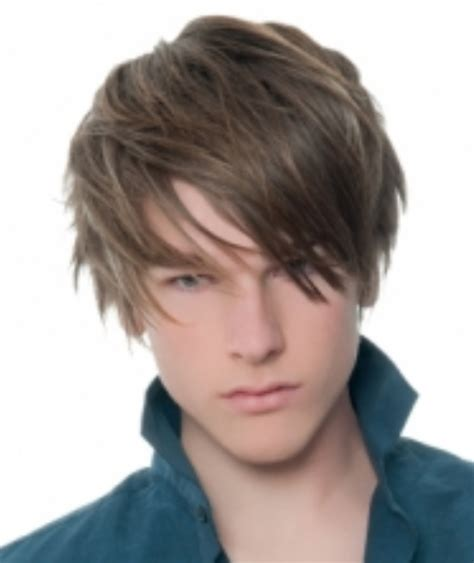 teenage boys hairstyles gallery 2013 teen boys haircuts with layers and long layered bangs