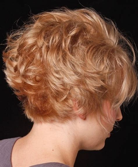 women short curly bob hairstyles front and back inverted hairstyles cute short hair popular haircuts