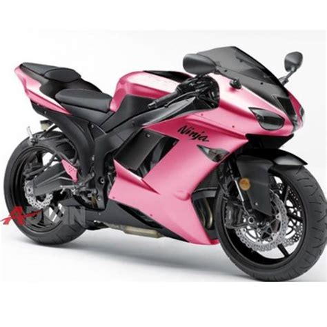 Fairing Plastik M1 Set buy glossy pink for 05 06 kawasaki zx6r 2005 2006
