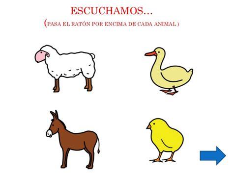 imagenes de animales y sonidos los sonidos de los animales de la granja203