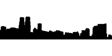 Los Angeles Putih free vector graphic mexico city skyline city