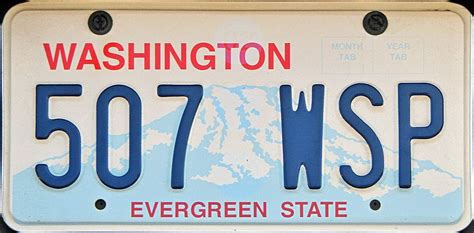 Vanity Plates Washington by Entropy Washington State License Plates