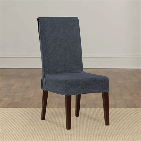slipcover dining chair sure fit shorty dining chair slipcover reviews wayfair