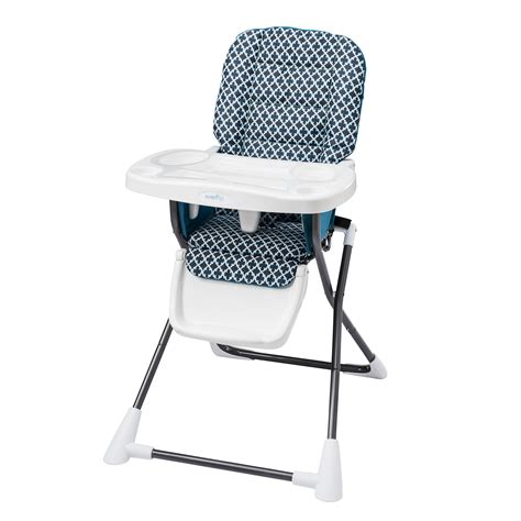 Evenflo Compact Fold High Chair by Evenflo Compact Fold High Chair Monaco Baby Baby Gear