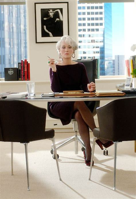 Magic Wears Prada by Meryl Streep In The Wears Prada Cinema Il