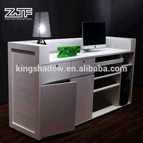 Free Standing Reception Desk 2015 White Reception Desk Free Standing Counter Hotel Reception Counter Design Buy Hotel