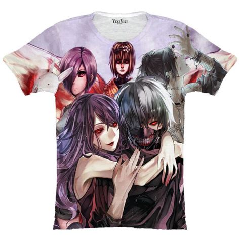 T Ghoul t shirts tokyo ghoul